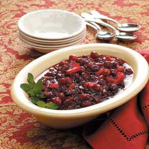 Candied Fruit Cranberry Chutney