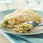 Creamy Broccoli Cauliflower Lasagna