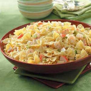 Bow Tie Seafood Salad
