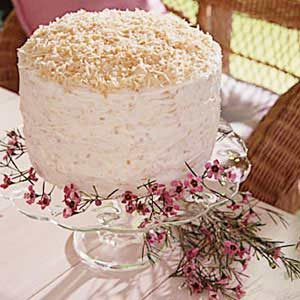 Rave Review Coconut Cake