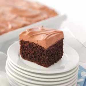 Light Peanut Butter Chocolate Cake