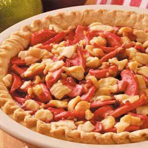 Candy Apple Walnut Pie