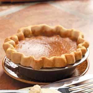 Homemade Maple Pumpkin Pie