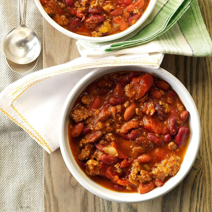 Sandy's Slow-Cooked Chili