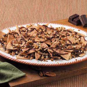 Cinnamon Chocolate Nachos