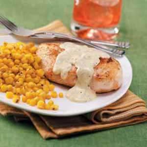 Chicken with Mustard Gravy