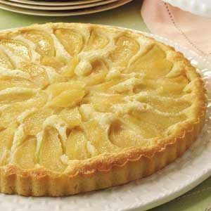 Buttery Almond Pear Cake
