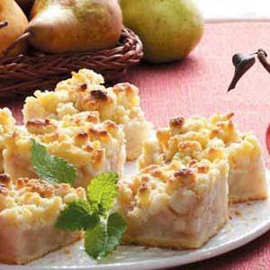 Old-Fashioned Pear Dessert