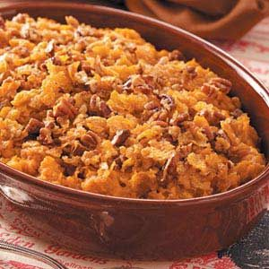 Crunchy Sweet Potato Bake