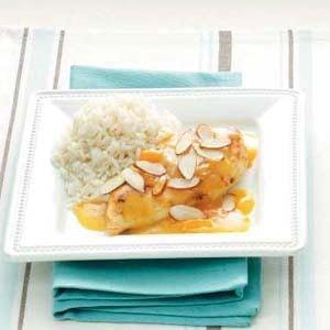 Quick Apricot Almond Chicken
