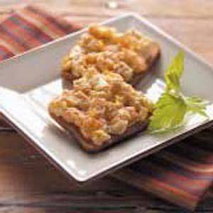 Artichoke Rye Toasts