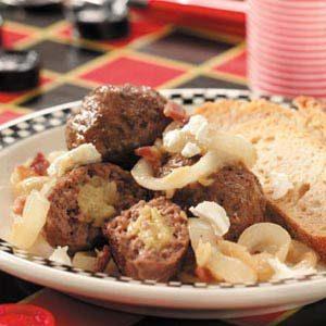Garlic-Filled Meatballs