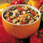 Three-Pepper Pasta Salad