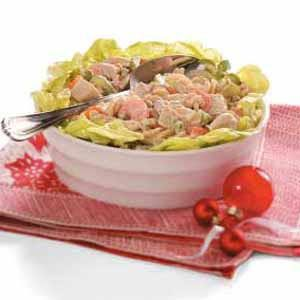 Chicken Pasta Salad for Four