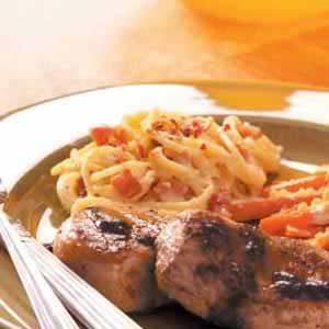 Spaghetti Carbonara for Two