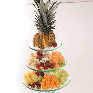 Nutty Fruit 'n' Cheese Tray