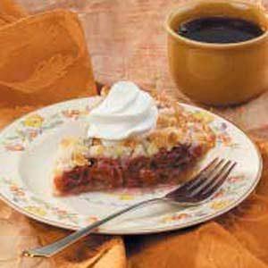 Crumb-Topped Cherry Pie