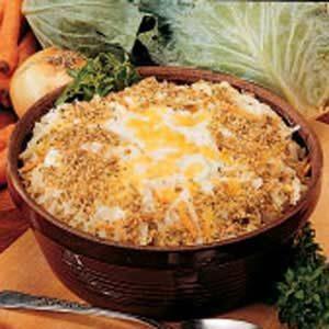 Scalloped Cabbage Casserole