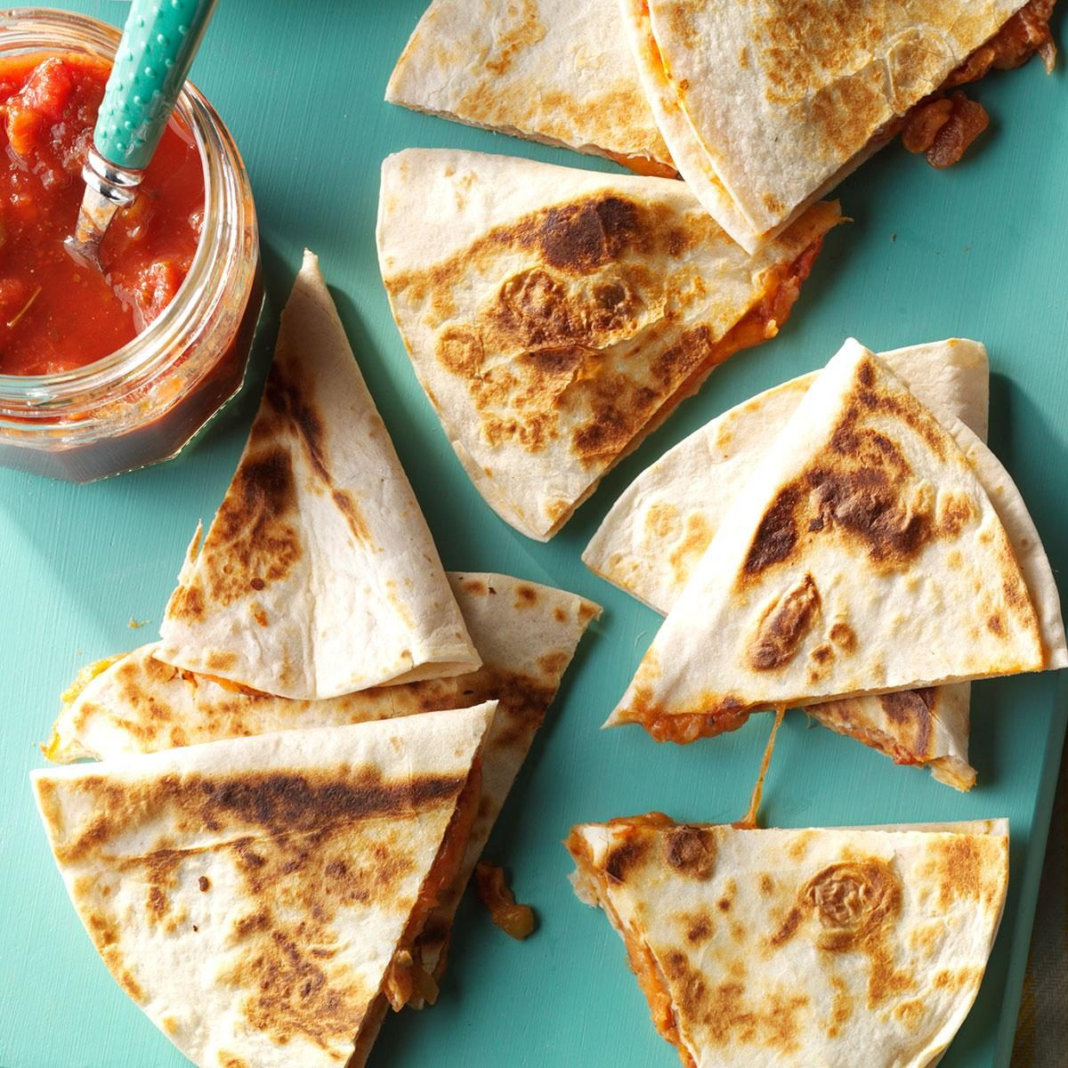 Middle School Age: Cheesy Quesadillas