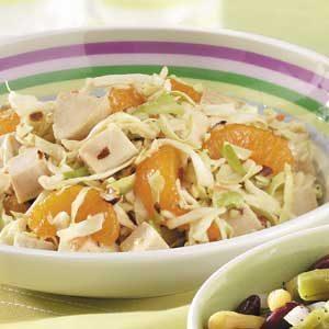 Mandarin Chicken Coleslaw