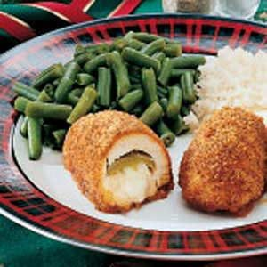 Mexican-Style Chicken Kiev
