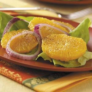 Mediterranean Orange Salad