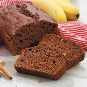 Chocolate-Cherry Banana Bread