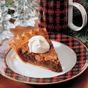 Walnut  Applesauce Pie