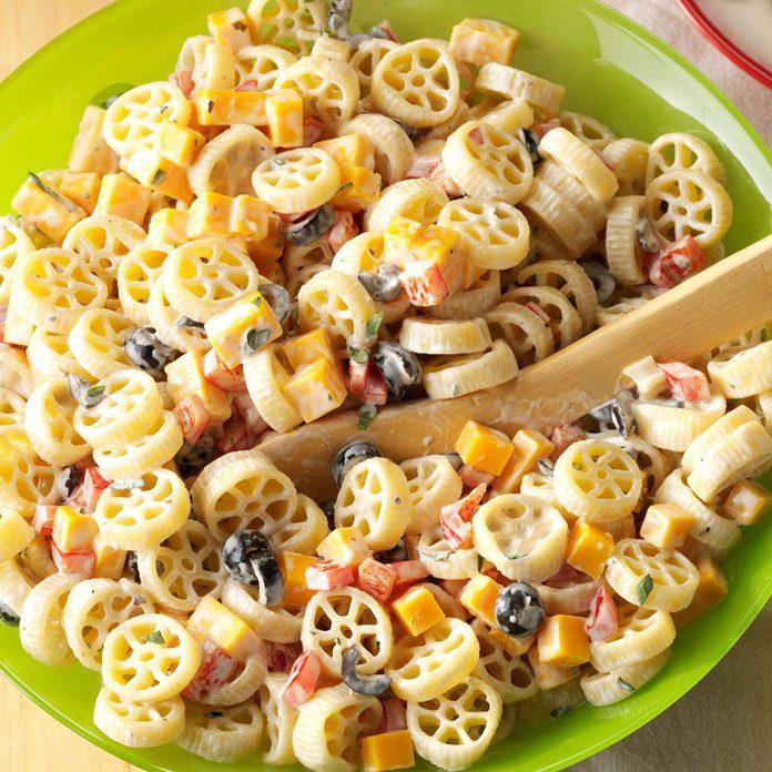 Wheely-Good Pasta Salad