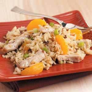Mandarin Pork and Wild Rice