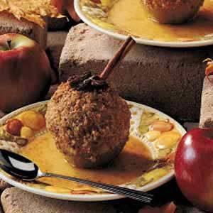 Crunchy Baked Apples