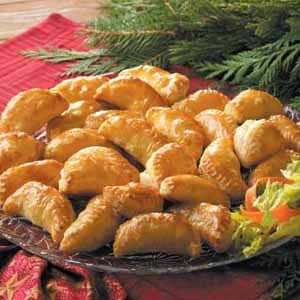 Contest-Winning Curried Chicken Turnovers