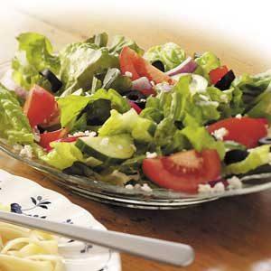 Zesty Greek Salad