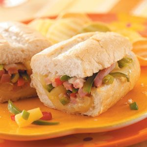 Hawaiian Ham Sandwiches
