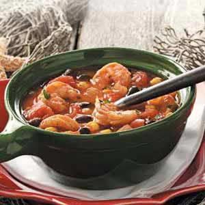 Shrimp and Black Bean Soup