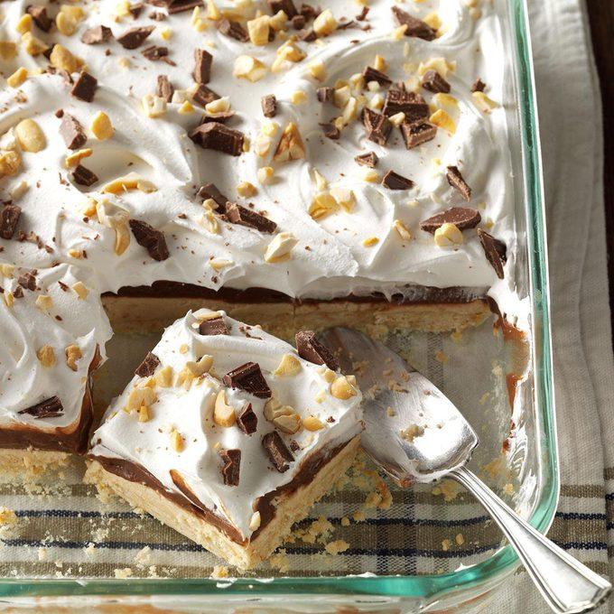Peanut Butter Pudding Dessert