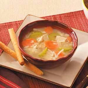 Chick-n-Rice Soup