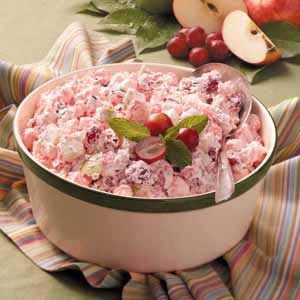 Creamy Cranberry Apple Salad