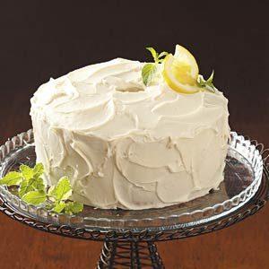Homemade Lemon Chiffon Cake