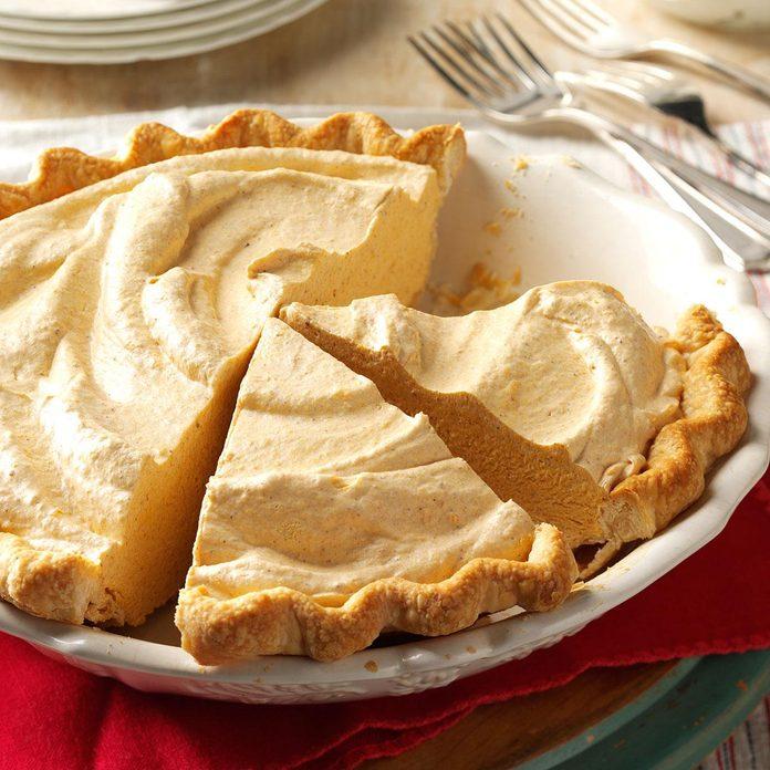 Fluffy Pumpkin Pie
