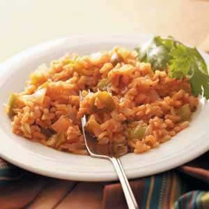 Speedy Spanish Rice