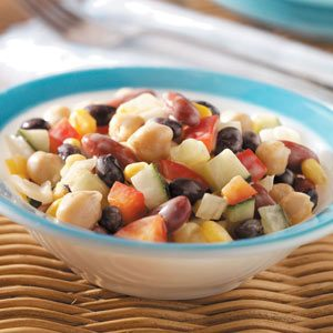 Fancy Bean Salad