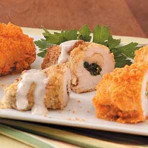 Mashed Potato Chicken Roll-Ups