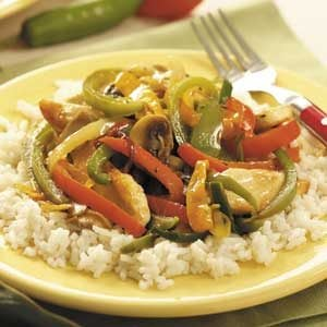 Six-Pepper Chicken