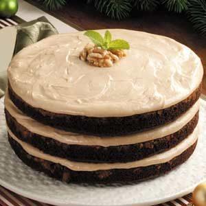 Mocha Cream Torte