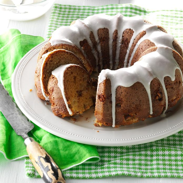 Breakfast Apple Cake
