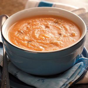 Root Vegetable Soup with Sausage