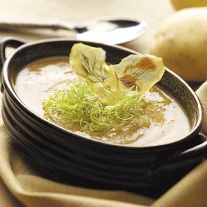 Dilled Potato-Leek Soup