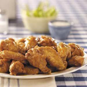 Buttery Hot Wings