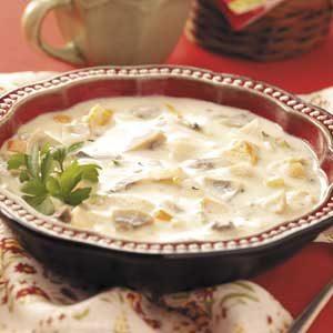 Zippy Chicken Mushroom Soup